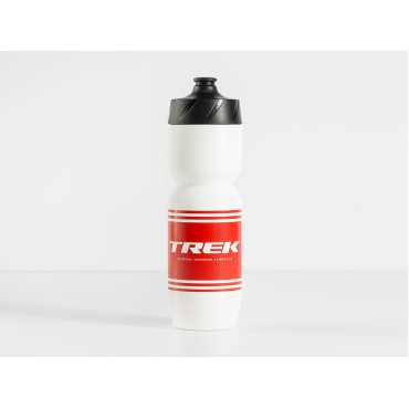 Bottle Trek 26oz Voda Red Stripe White